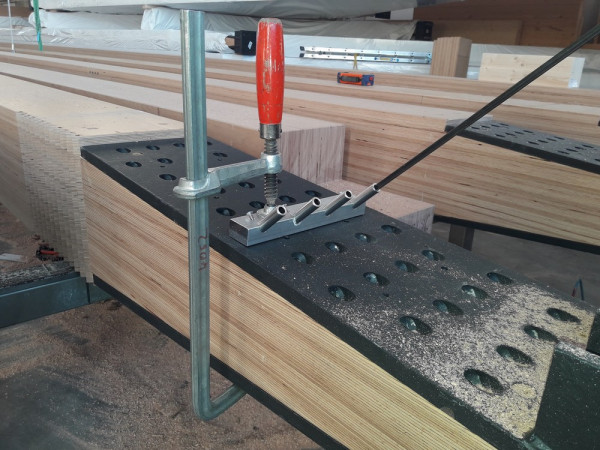 Tieflochbohrsystem TBS kompakt für Baubuche