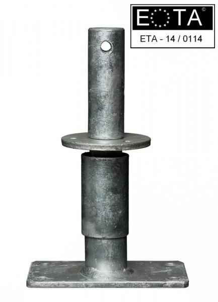 Stützenfuß Vario K1 150