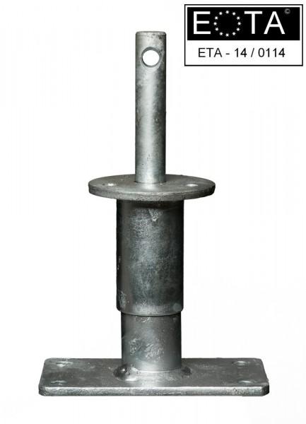 Stützenfuß Vario 150